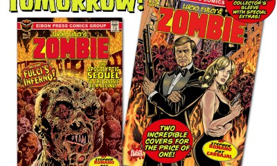 COUNTDOWN 1 DAY - The official SEQUEL to Lucio Fulci's ZOMBIE drops TOMORROW!