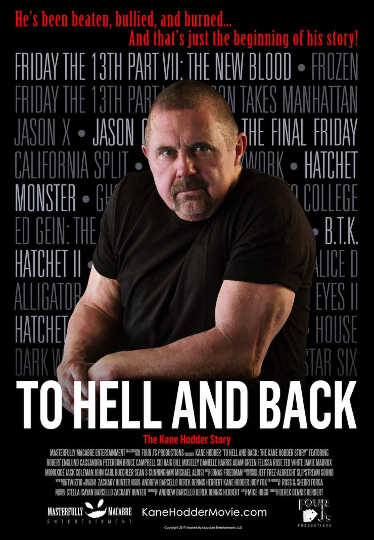 To Hell and Back Theatrical Poster - ScareFest to Go To Hell and Back with Kane Hodder Story