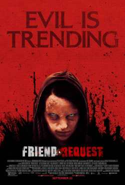 friend request poster - Friend Request (2017)