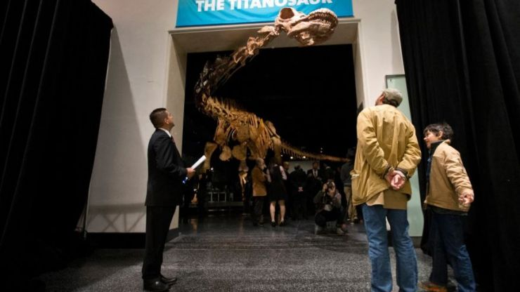 gasp patagotitan - Really Big Dinosaurs Wander The Gasp Menagerie