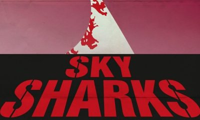 sky sharks new poster 2 - New Sky Sharks Poster Pays Homage to Dawn of the Dead