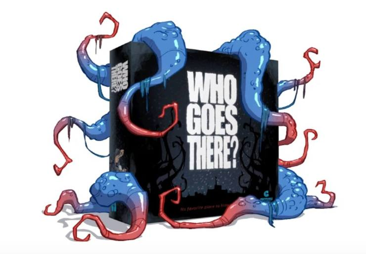 the thing board game 1 - The Thing Board Game Asks Who Goes There?