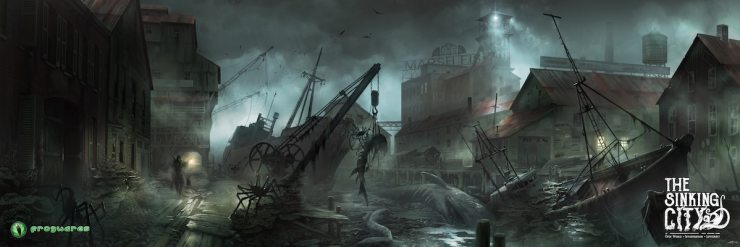 thesinkingcity Oakmont Harbor Exclusive - The Sinking City: Concept Artist Andrey Roscha on Designing Beautiful Terror