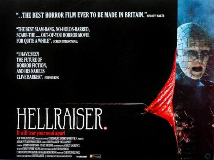 HR 1 - Clive Barker Has Such Sights to Show You: Hellraiser (1987) - 30 Years of Pleasure and Pain [Part 1 of 2]