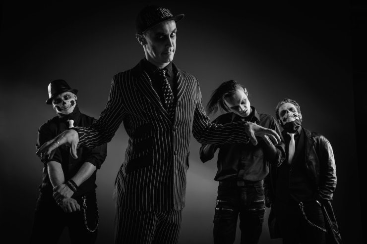 """Coffin Carousel band - Exclusive: Coffin Carousel Rock Your Halloween in """"Skull Candy"""""""