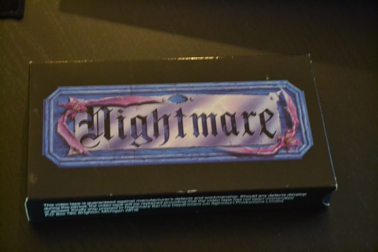 DSC 0046 - We Played Nightmare: The VHS Board Game! Here's How It Went