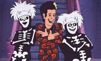 poster and trailer for david s pumpkins animated halloween special featuring tom hanks