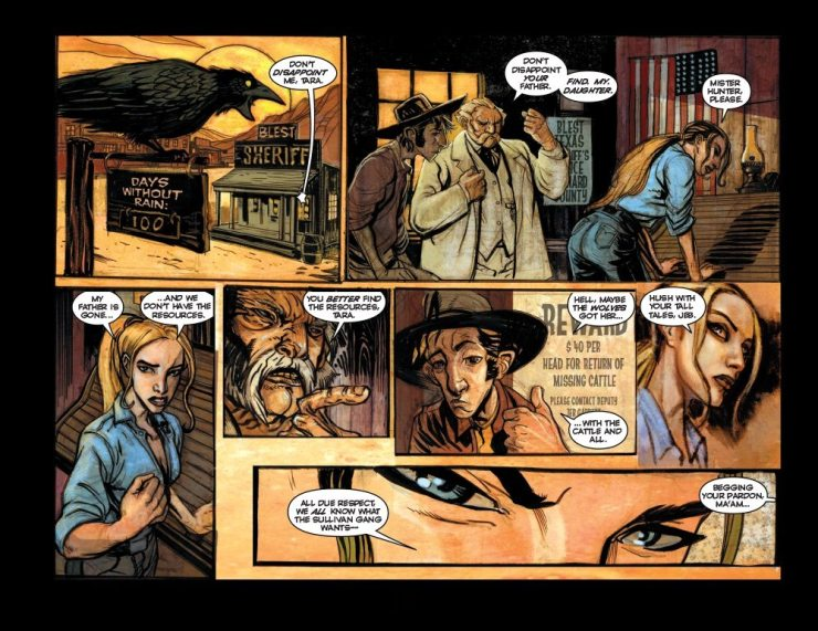 High Moon Page2 - Exclusive: Preview Pages From the Werewolf Western Comic High Moon