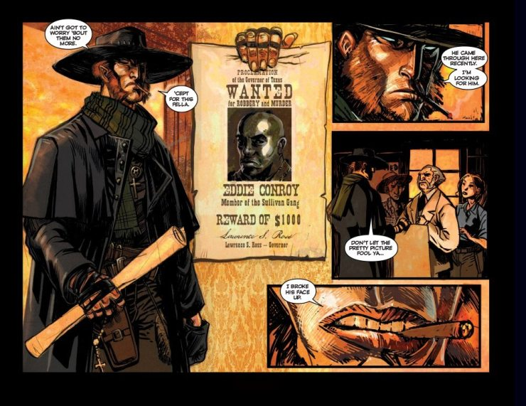 High Moon Page3 - Exclusive: Preview Pages From the Werewolf Western Comic High Moon