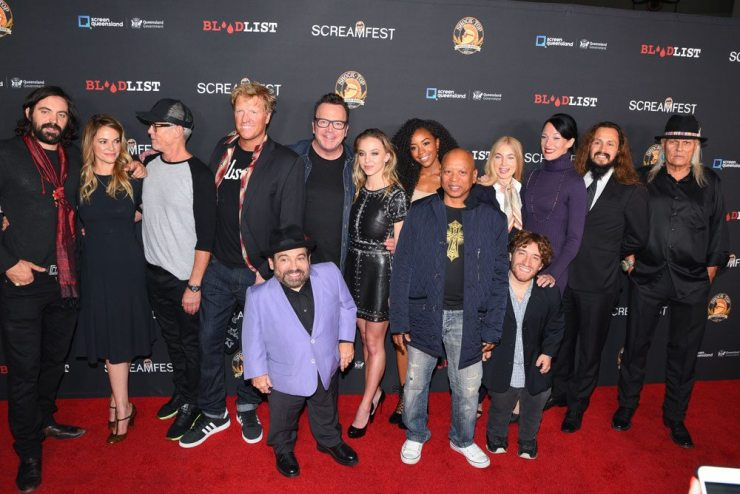 Screamfest Dead Ant Group - Screamfest L.A. 2017:  Exclusive Opening Night Photos, Video, and Interviews with Dead Ant's Ron Carlson and Tom Arnold