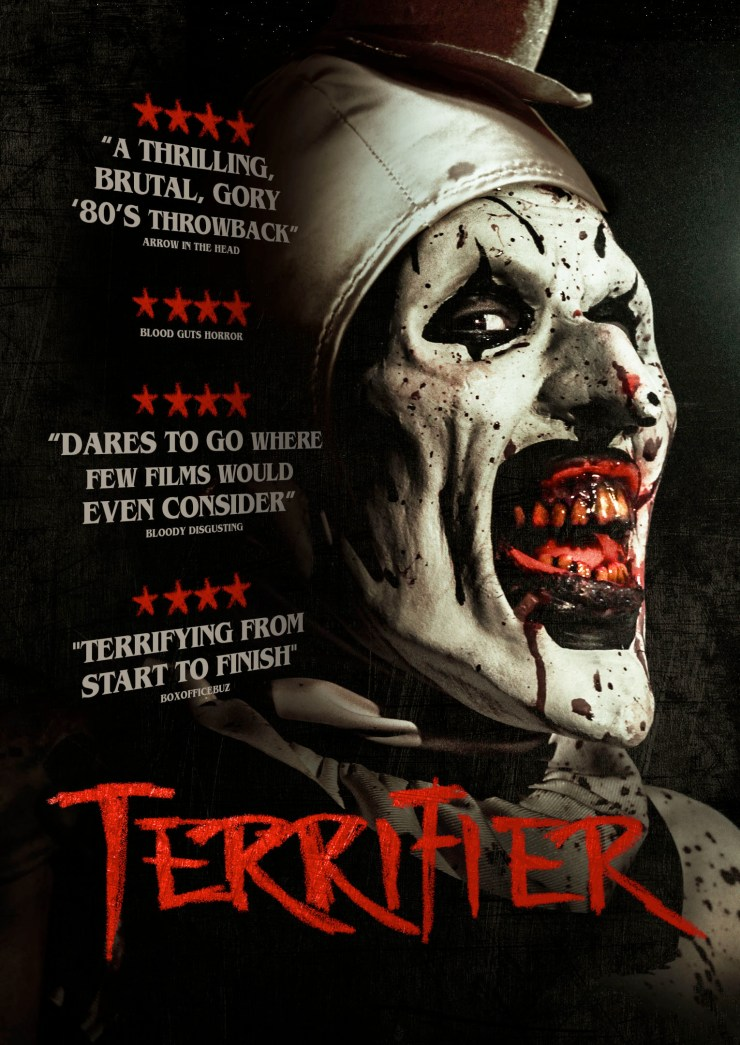 TERRIFIER DVD SLV V0m1 - Three Additional Titles Added to Epic's Dread Central Presents Label Ahead of the American Film Market