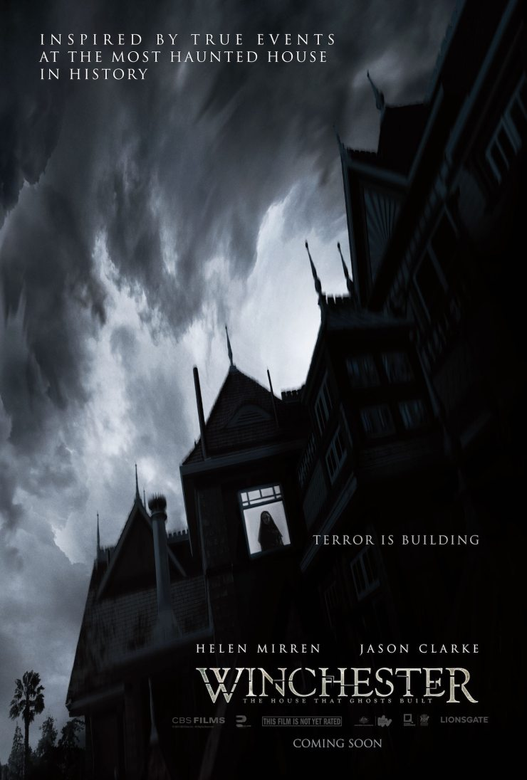 WinchesterOfficialPoster - Winchester: The House That Ghosts Built - We Visit the Home with Directors the Spierig Brothers