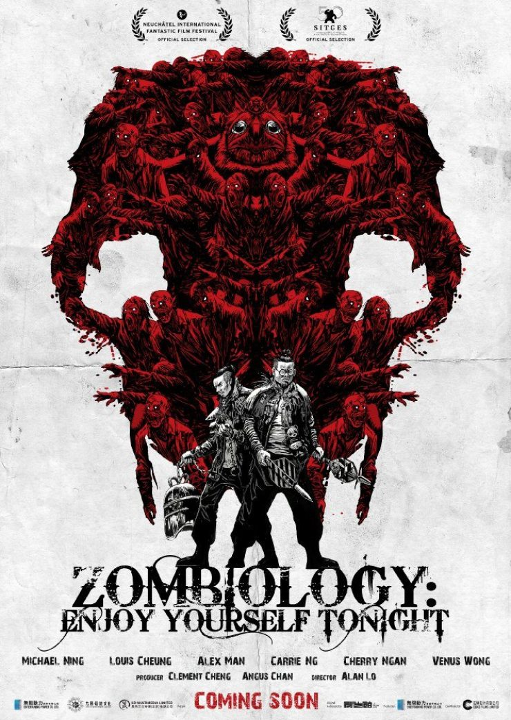 ZOMBIOLOGY ENJOY YOURSELF TONIGHT poster - Three Additional Titles Added to Epic's Dread Central Presents Label Ahead of the American Film Market