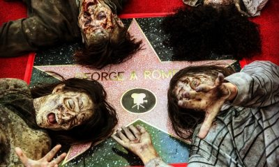georgearomerowalkoffame 6 - Event Report: George A. Romero Posthumously Receives Star on the Walk of Fame