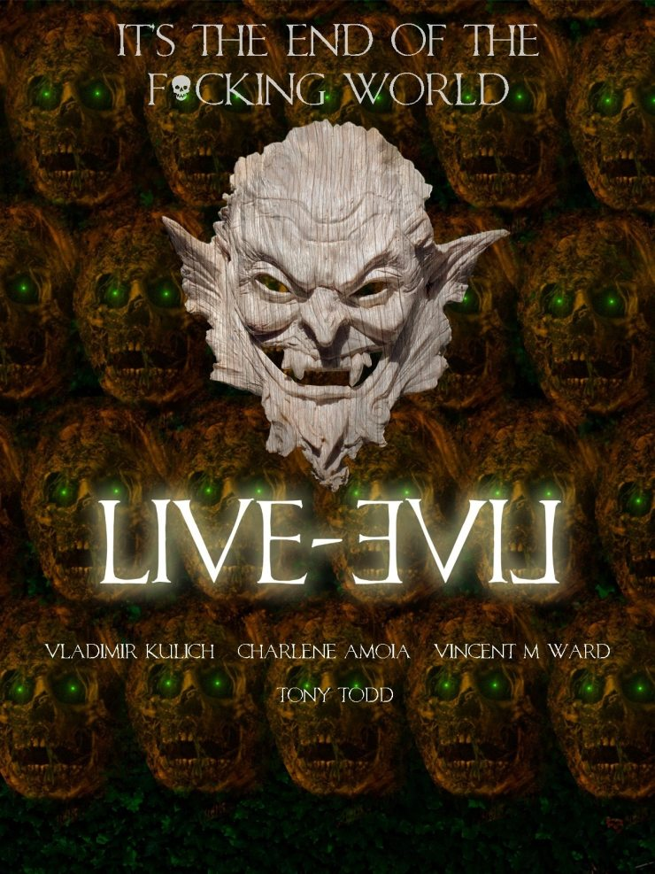 leposter - First Look: Trailer, Poster, and Stills For Live-Evil Starring Tony Todd