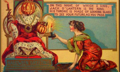 victorian halloween1 - Trick-or-Sweetheart: Halloween Was Oddly Romantic in Victorian Times