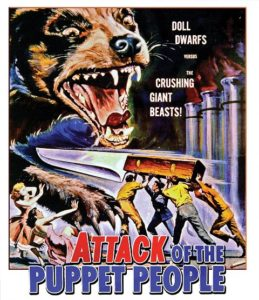 Attack Of The Puppet People 1958 259x300 - DVD and Blu-ray Releases: November 14, 2017
