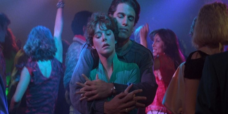 Fright Night 1985 Jerry Dandrige and Amy - Fearsome Facts: 8 Things You Didn't Know About Fright Night (1985)