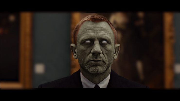 HZ Daniel Craig - Hollywood Zombies Shamble In