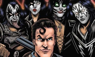 KissArmyofDarkness - KISS Meets Army of Darkness in New Comic Miniseries!