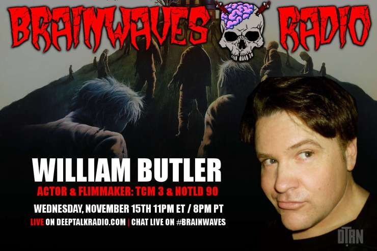 bill butler brainwaves - #Brainwaves Episode 67: Actor and Filmmaker William Butler LISTEN NOW!