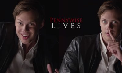 PennywsieLives - Must-See: Watch Bill Skarsgard Turn Into Pennywise In All-New IT Featurette