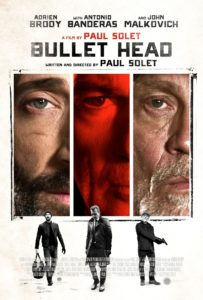 bullet head poster 203x300 - Bullet Head Review - How Dare a Movie About Vicious Dogs and Career Criminals Make Me Cry!