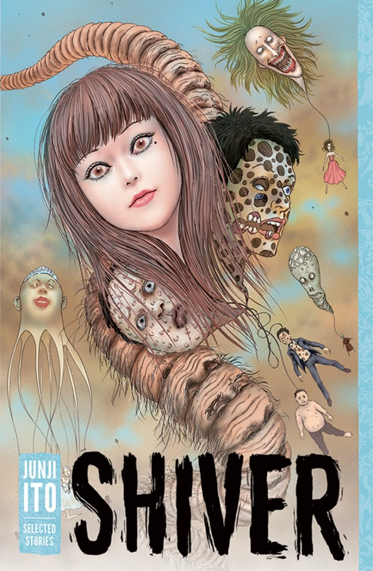 shiver cover - Get Ready to Shiver with These Selected Stories by Junji Ito