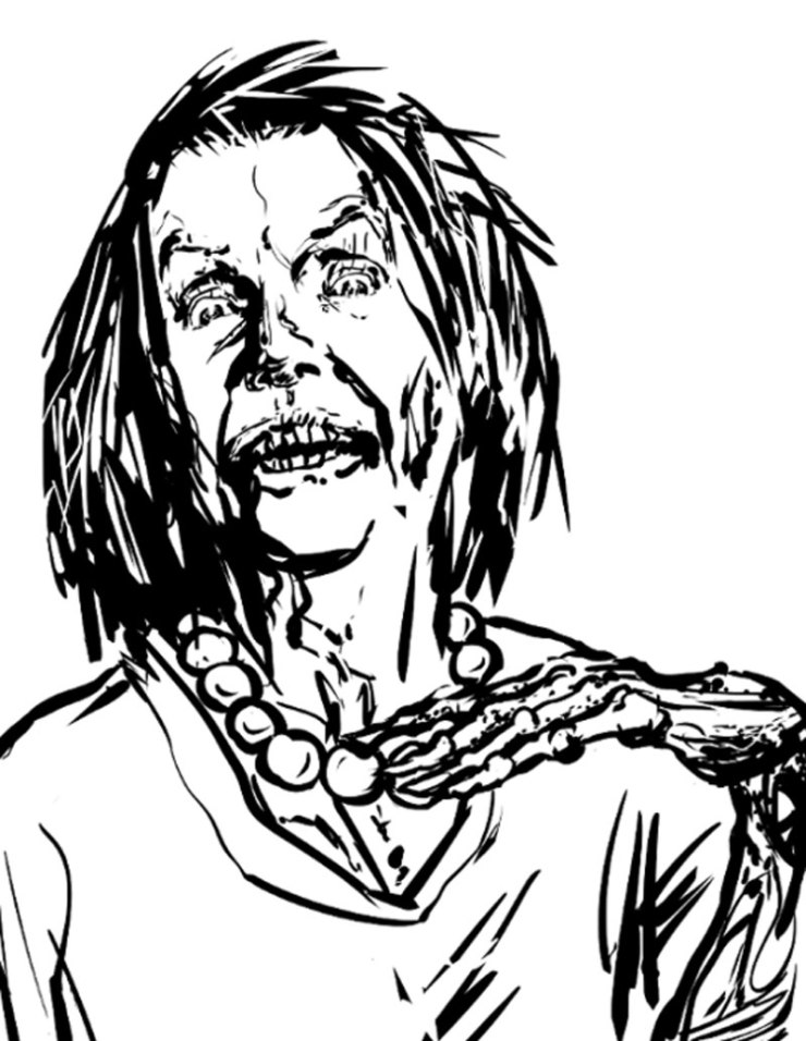 zombie nancy pelosi - Adult Coloring Book Zombie Politicians Arriving Just in Time for the Holidays