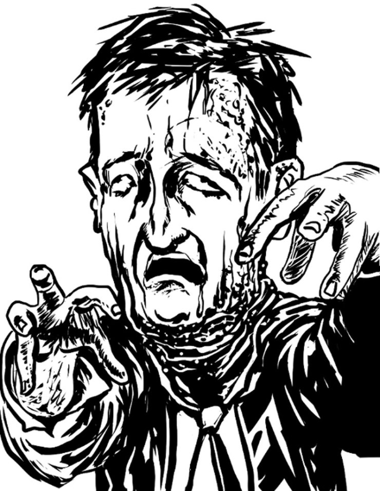 zombie ted cruz - Adult Coloring Book Zombie Politicians Arriving Just in Time for the Holidays