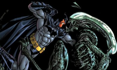 Batman vs Aliens - Superheroes You Never Realized Battled Xenomorphs