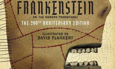 Frankenstein cover s - Celebrate the 200th Anniversary of Frankenstein by Winning a Copy of the 'Classics Reimagined' Illustrated Novel