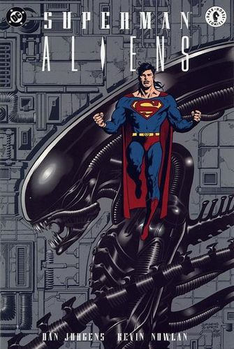 Superman vs Aliens - Superheroes You Never Realized Battled Xenomorphs
