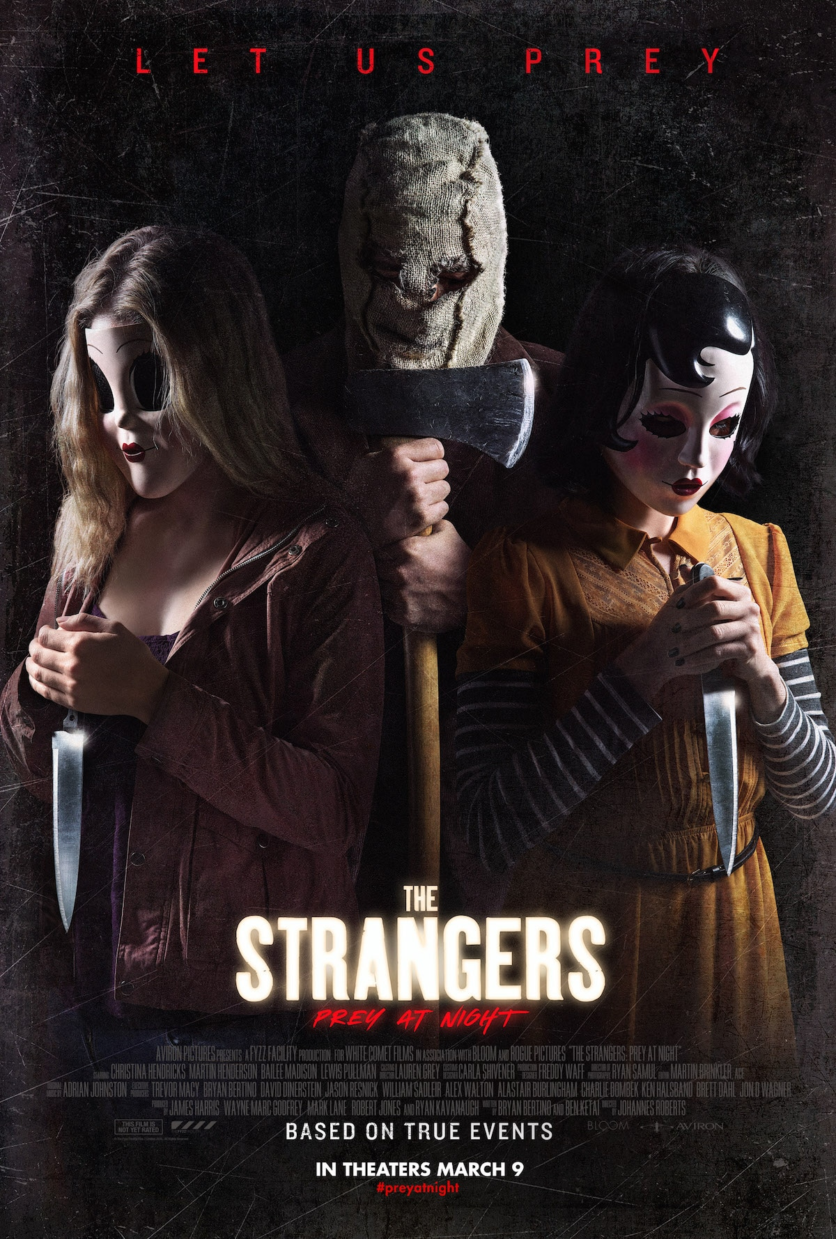 kip weeks, original man in the mask, slashes the strangers: prey at