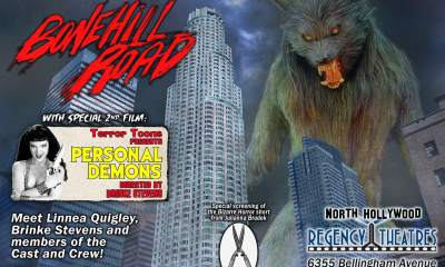 bonehill road premiere 1 - Practical FX Werewolf Movie Bonehill Road Premiering on January 26th
