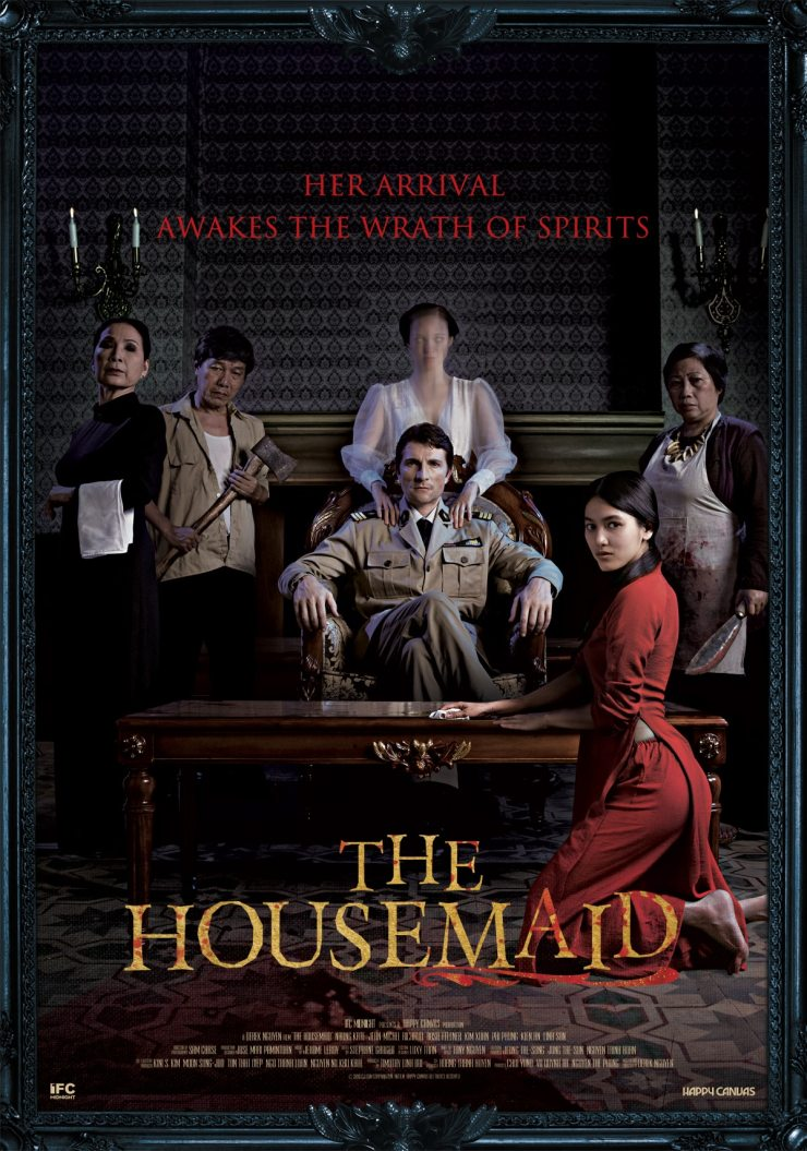 housemaid poster - The Housemaid Haunts a New Trailer