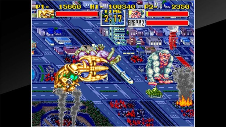 king of the monsters3 1 - SNES Classic King of the Monsters Smashes onto the Switch eShop