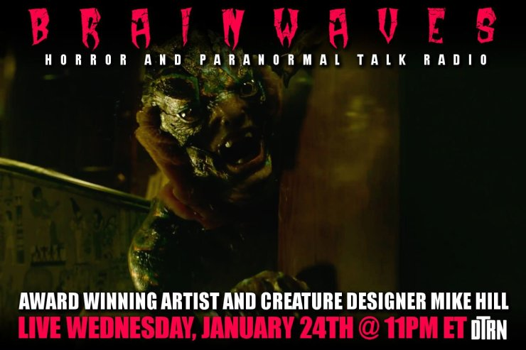 mike hill brainwaves - #Brainwaves Episode 74: Creature Designer Mike Hill - The Shape of Water and More! Listen NOW!