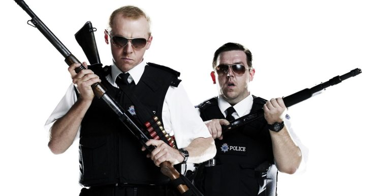 simon pegg nick frost - Simon Pegg and Nick Frost Are Truth Seekers Playing by Slaughterhouse Rulez