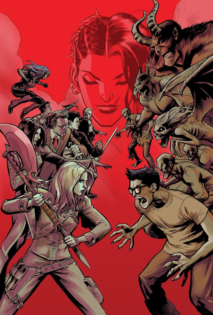 Buffy2 - Buffy Is Back in New Buffy the Vampire Slayer Comic Miniseries by Joss Whedon
