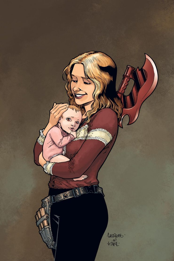 Buffy3 - Buffy Is Back in New Buffy the Vampire Slayer Comic Miniseries by Joss Whedon