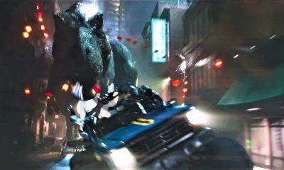 ReadyTrexOne - Jurassic Park T-Rex Stomps Through Ready Player One Trailer #3