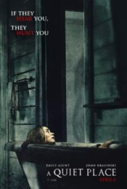 aquietplacenewposter218 202x300 - SXSW 2018: A Quiet Place Review - As Emotionally Powerful as It Is Terrifying