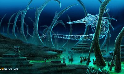 featured - Subnautica Review - Bright Lights, Big Fishy