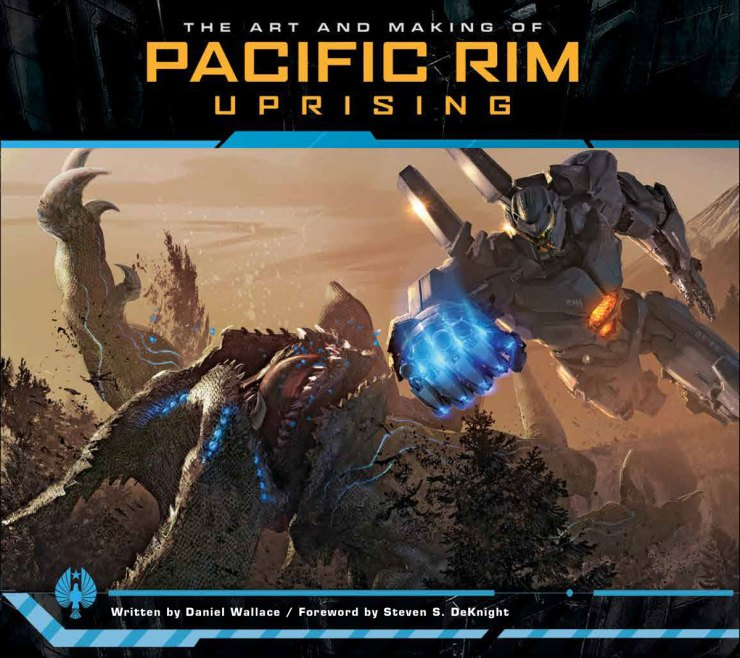 pacrim uprising artbook - Explore The Art and Making of Pacific Rim Uprising This Spring