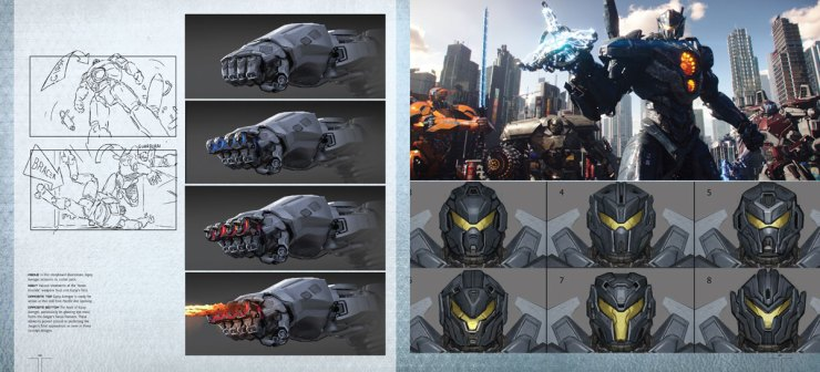 pacrim uprising artbook3 - Explore The Art and Making of Pacific Rim Uprising This Spring