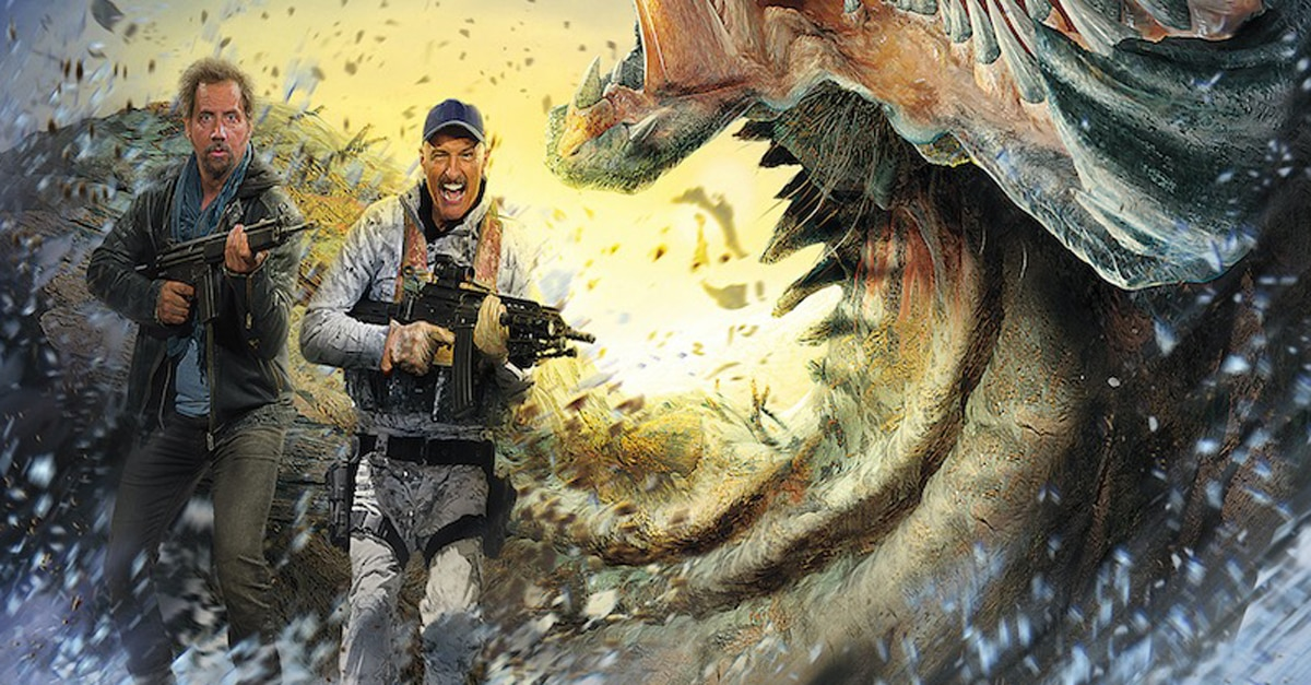 Tremors A Cold Day In Hell Trailer Artwork And