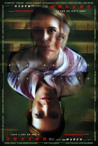 unsane poster 202x300 - Win A Signed Copy of Steven Soderbergh's Unsane Poster!