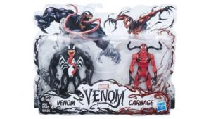 venom action figure 1 300x169 - Hasbro Reveals a Bunch of New Venom and Carnage Action Figures