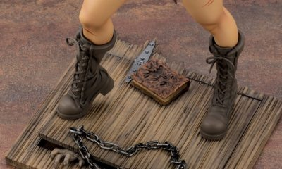 Kotobukiya Bishoujo Ash Williams Evil Dead 2 figure 004banner - Kotobukiya Makes Bishoujo Ash Williams with Extra Sugar